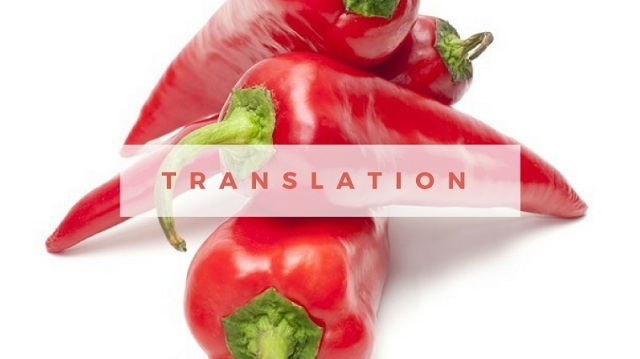 foodie translator