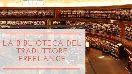 biblioteca traduttore