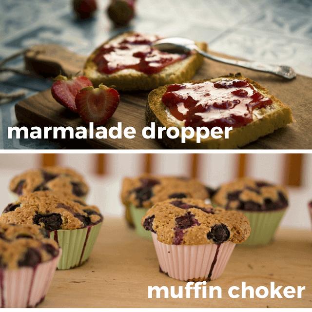 marmalade and muffin