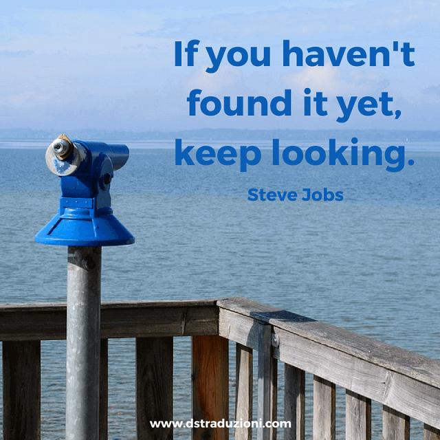 keep looking