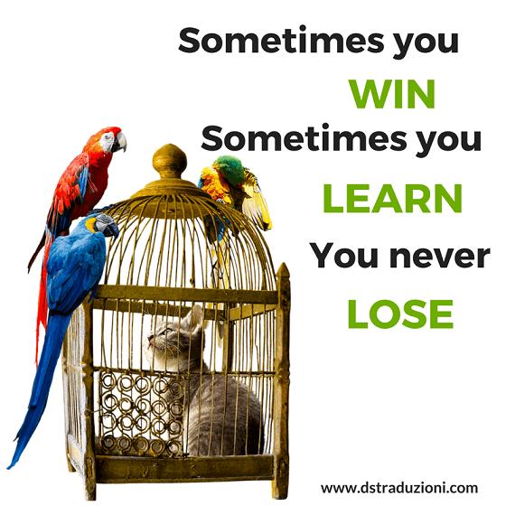 win,learn