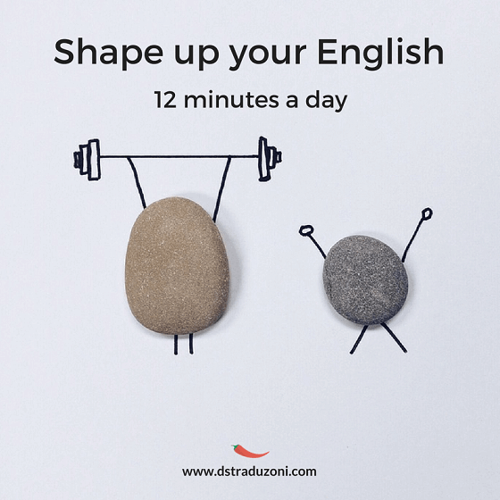 Shape up your English