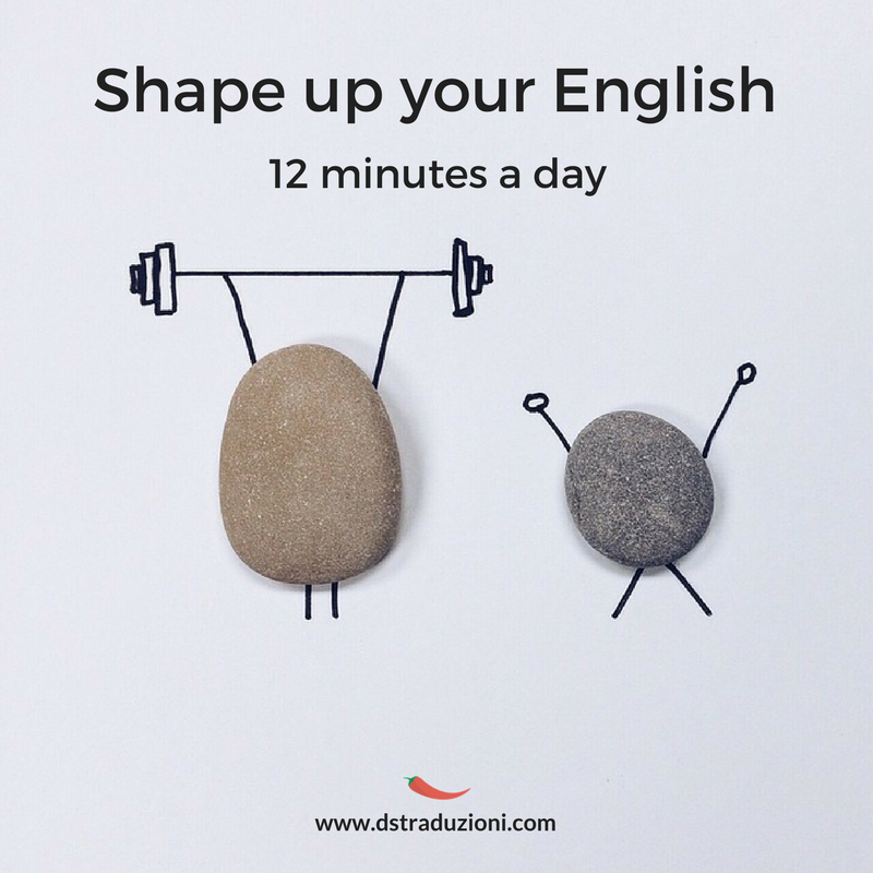 Shape up your English