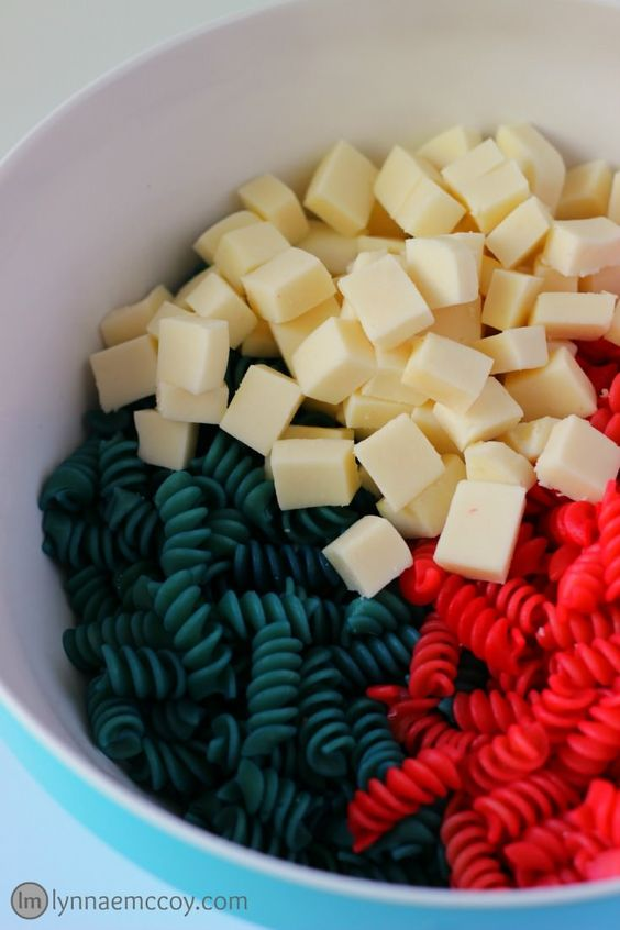 stars and stripes pasta