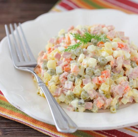 insalata Olivier o insalata russa