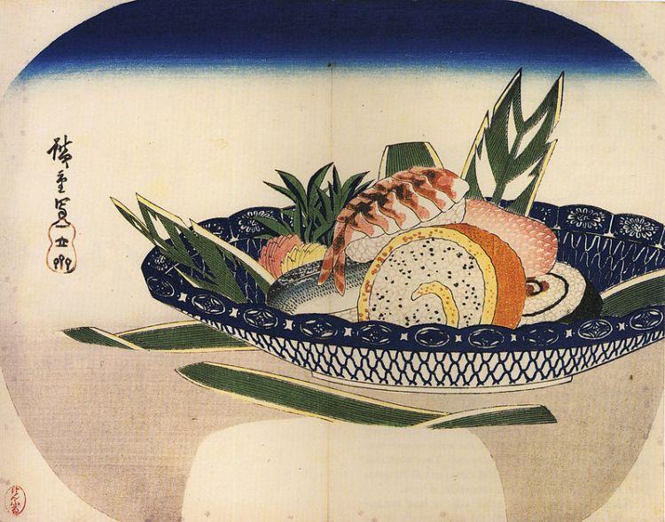 Hiroshige_Bowl_of_Sushi