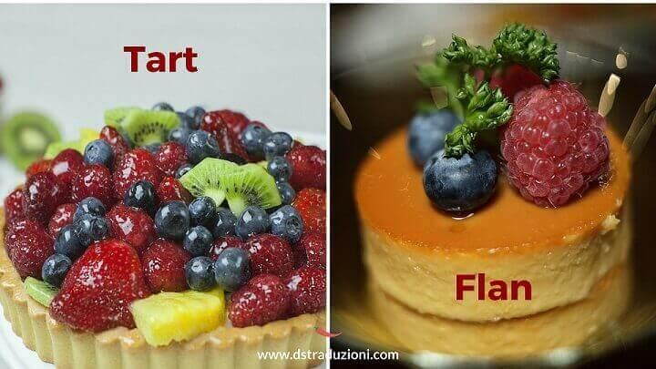tart vs flan